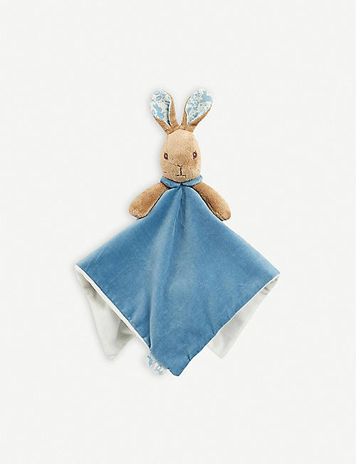 PETER RABBIT: Peter Rabbit soft plush comfort blanket 12cm