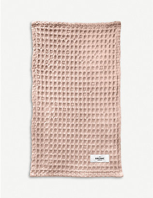 THE ORGANIC COMPANY: Waffle-knit organic-cotton cloth
