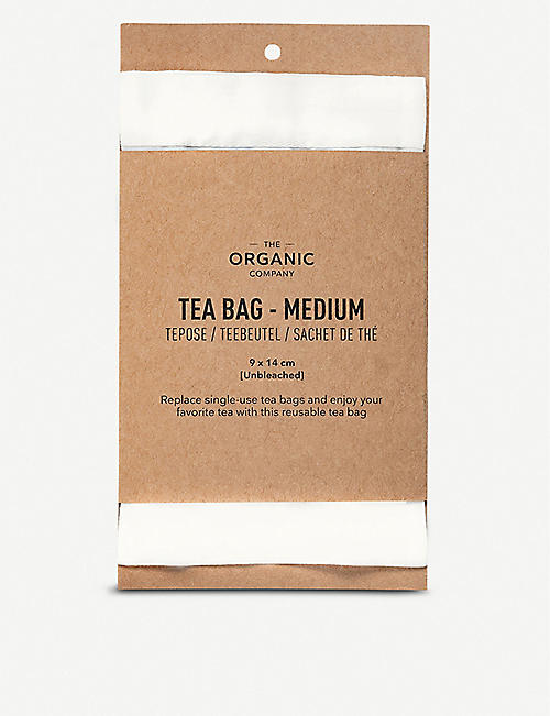 THE ORGANIC COMPANY: Organic cotton tea bag