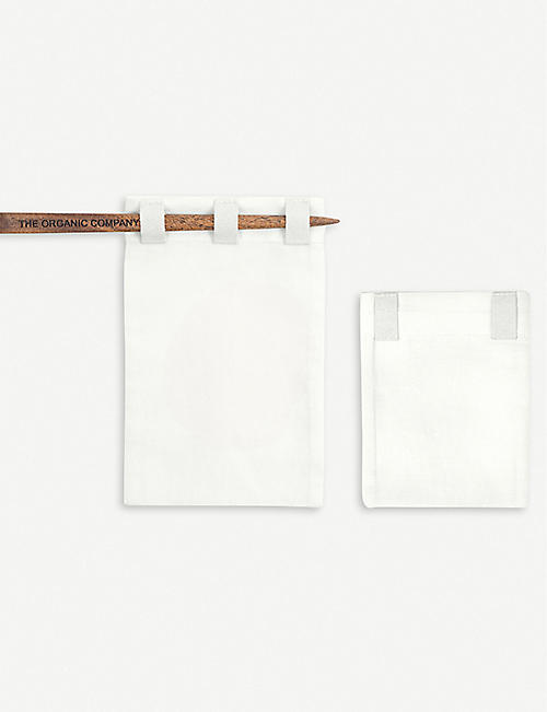 THE ORGANIC COMPANY: Organic cotton tea bag set