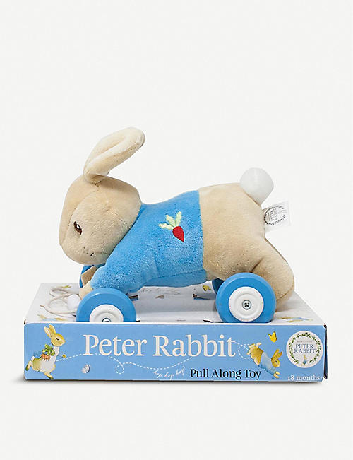 PETER RABBIT: Peter Rabbit pull-along toy 18.5cm