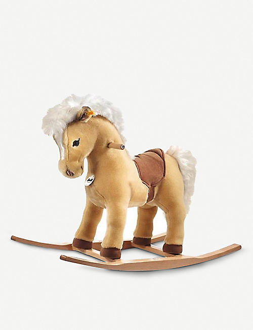 STEIFF: Franzi Riding Pony rocking horse 70cm