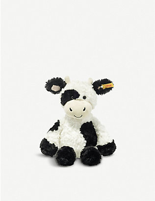 STEIFF: Soft Cuddly Friends Cobb Cow soft toy 30cm