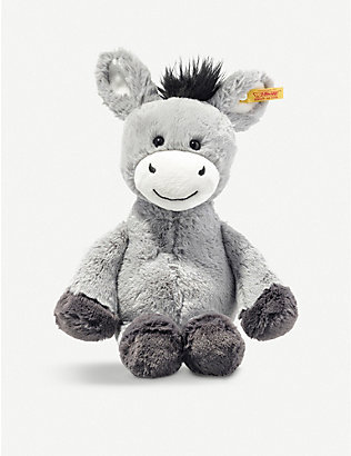 STEIFF: Soft Cuddly Friends Dinkie Donkey soft toy 30cm