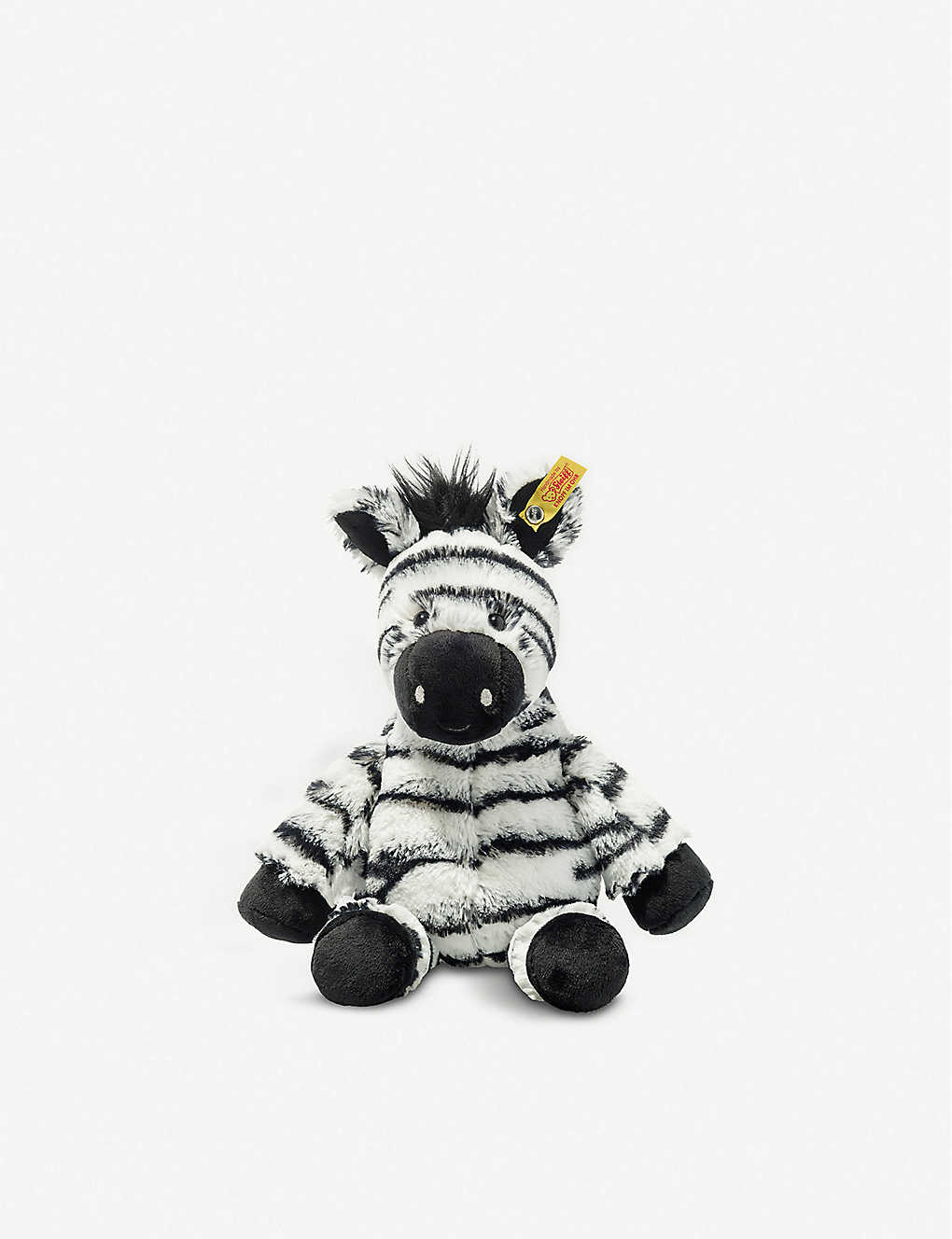 STEIFF: Soft Cuddly Friends Zora Zebra soft toy 30cm