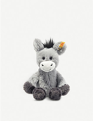 STEIFF: Soft Cuddly Friends Dinkie Donkey soft toy 20cm