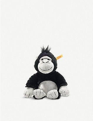 STEIFF: Soft Cuddly Friends Bongy Gorilla soft toy 20cm