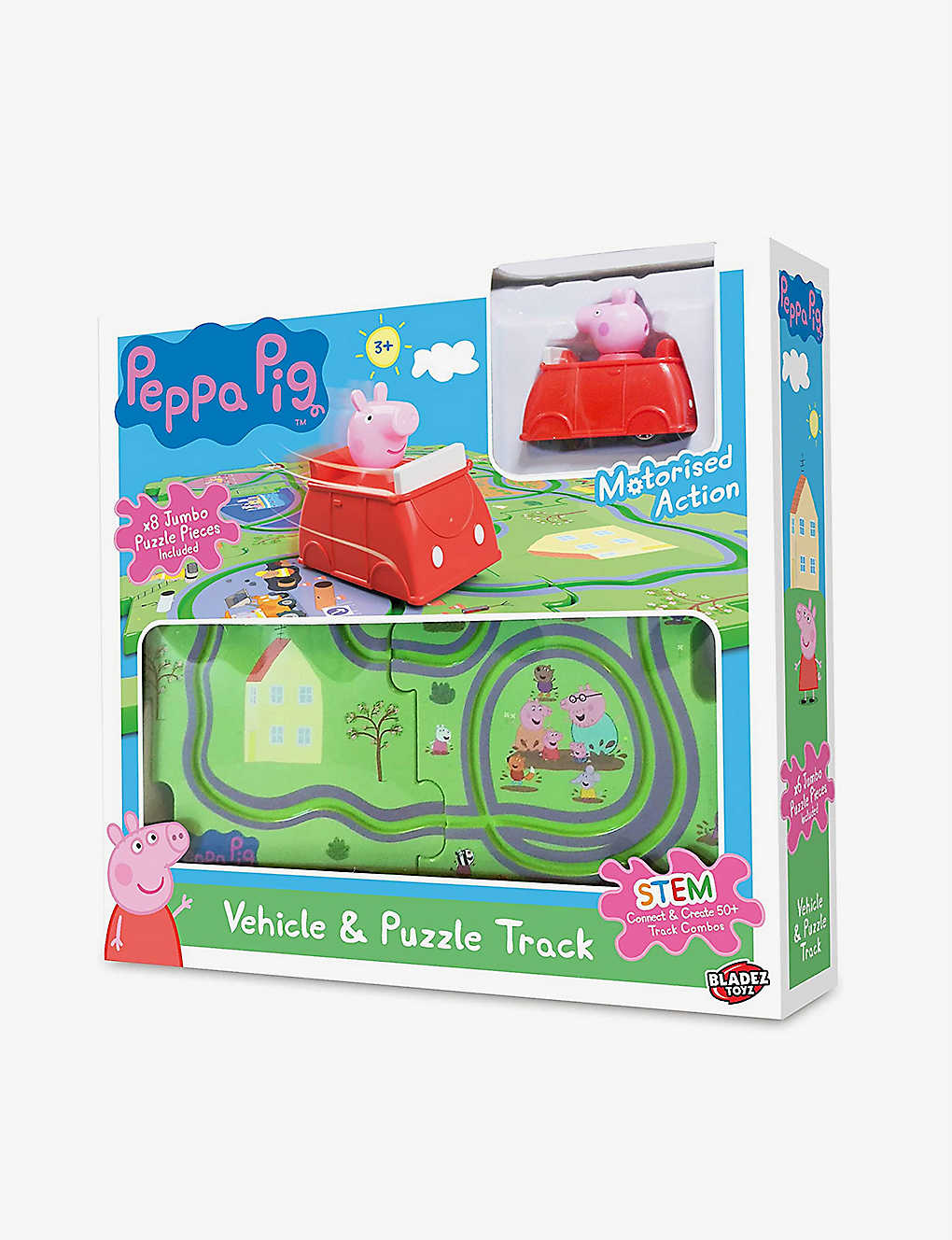 PEPPA PIG: Tile track and play set