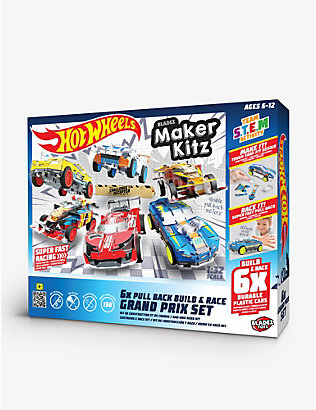 HOTWHEELS: Maker Kitz 6-car Grand Prix Set