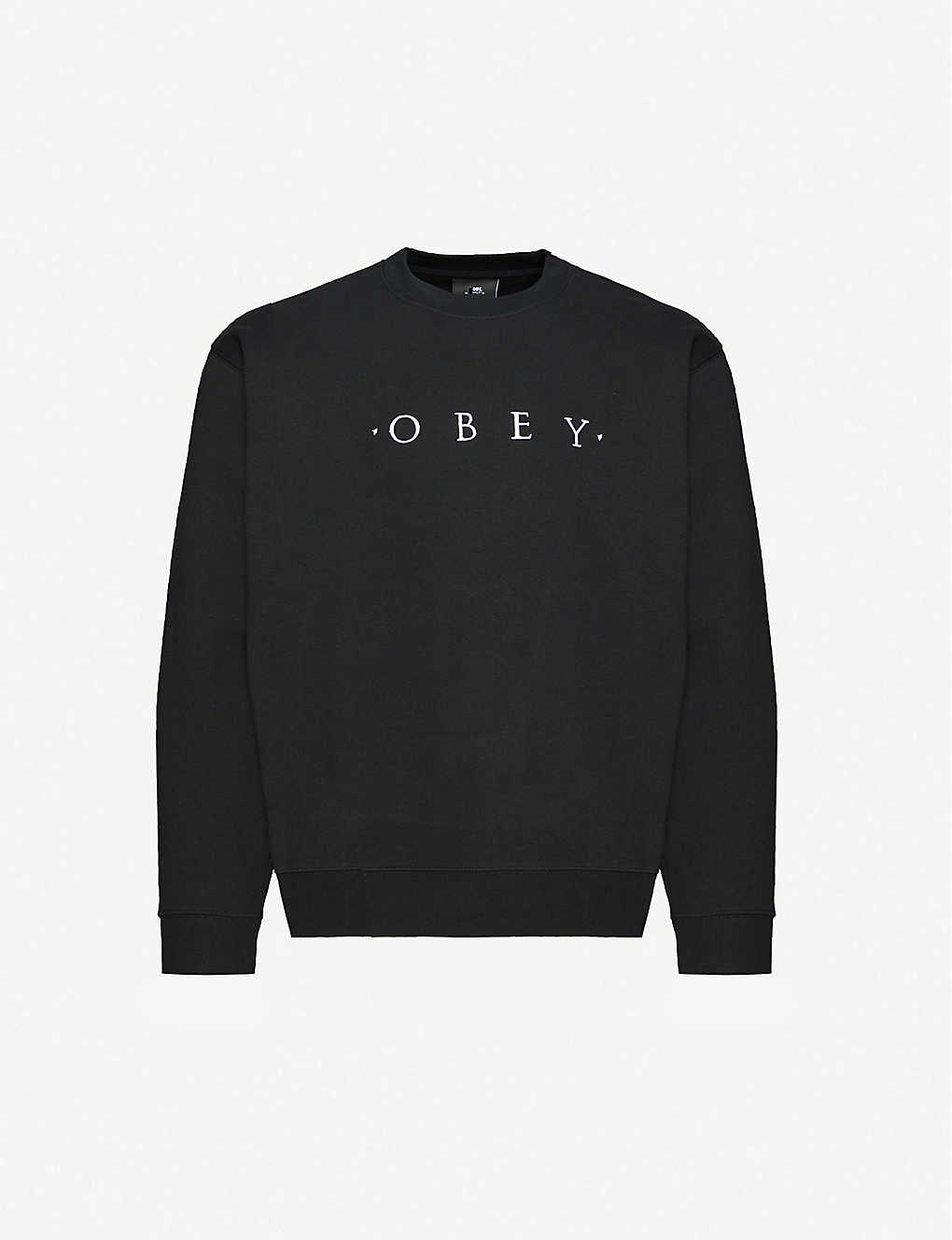 OBEY: Nouvelle cotton-jersey sweatshirt