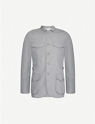 ORLEBAR BROWN: Ransley cotton-linen blend jacket