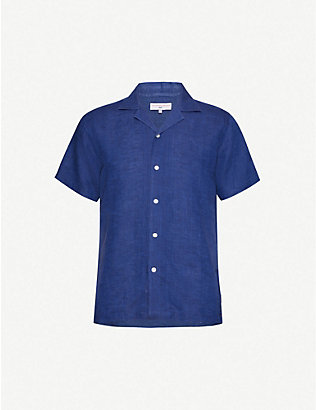 ORLEBAR BROWN: Orlebar Brown x James Bond Thunderball cotton-poplin shirt