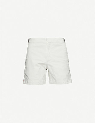 ORLEBAR BROWN: Bulldog mid-rise stretch-cotton swim shorts