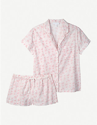THE WHITE COMPANY: Paisley-print short cotton pyjama set