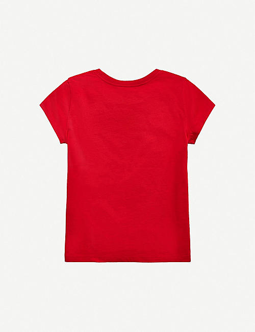 RALPH LAUREN Logo-print cotton-jersey T-shirt 7-14 years