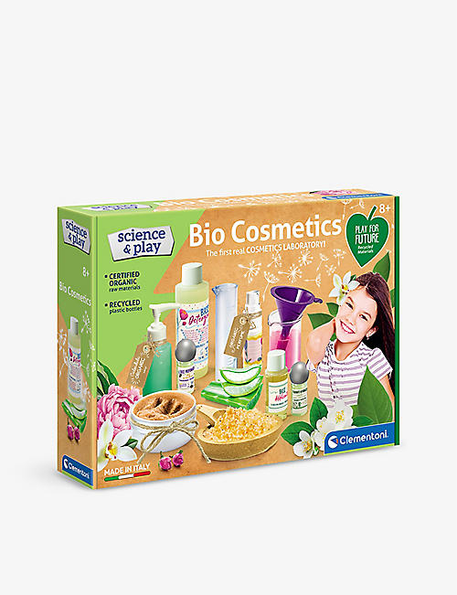 SCIENCE & PLAY: Clementoni Science & Play My Organic Cosmetic Lab set