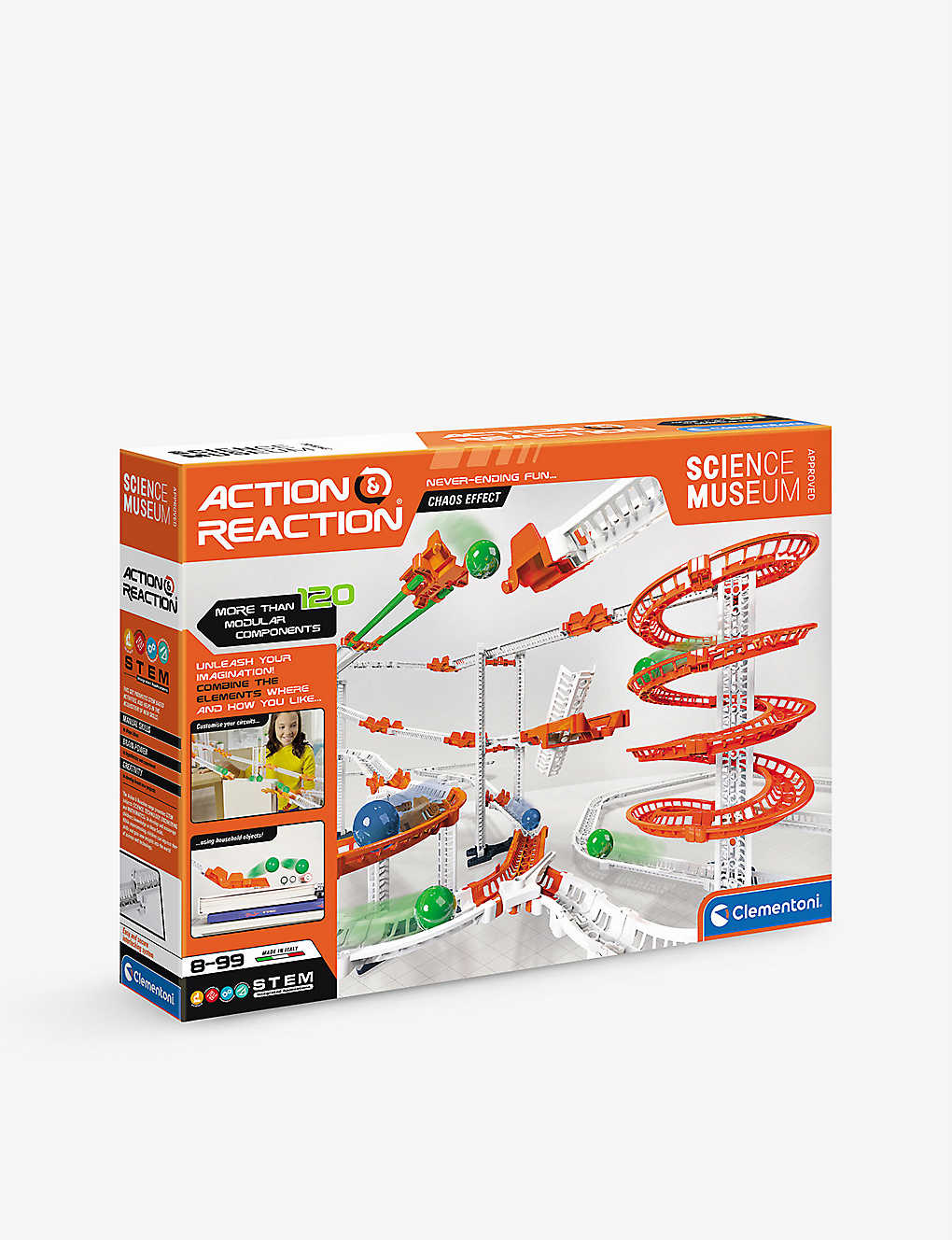 SCIENCE MUSEUM: Action & Reaction Chaos Effect science kit