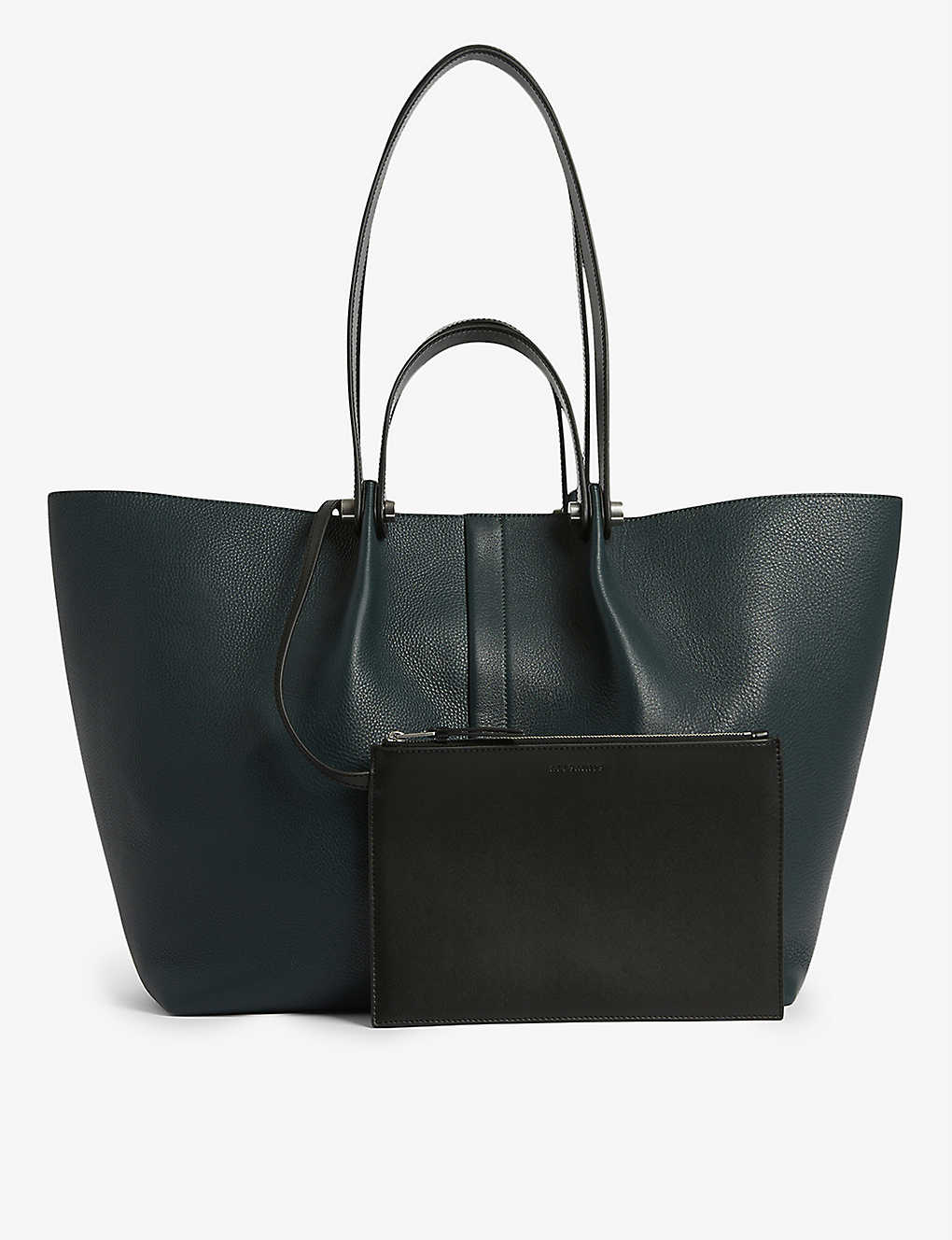 ALLSAINTS: Allington E/W leather tote