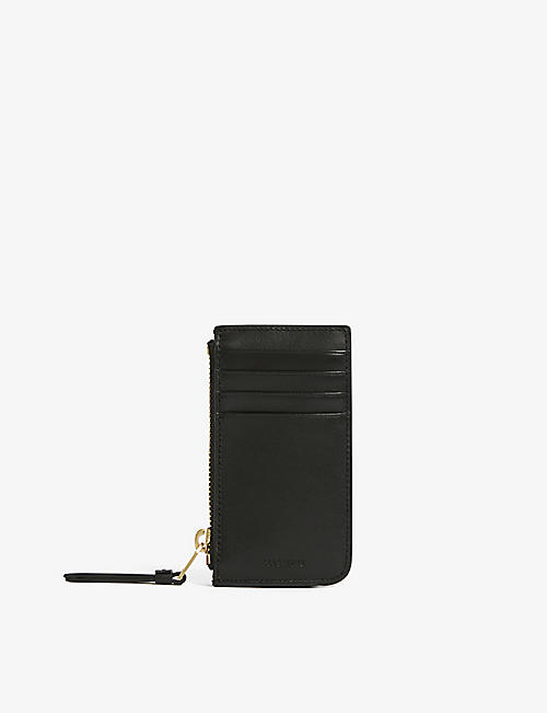ALLSAINTS: Little Marlborough leather cardholder