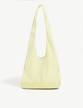THE ROW: Bindle nylon shoulder bag