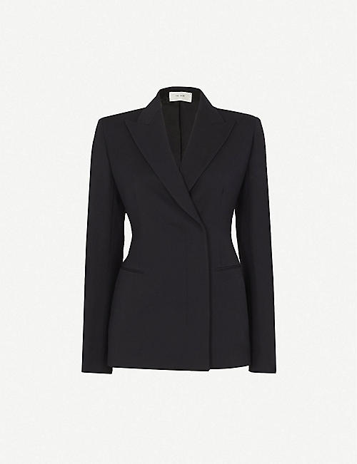 THE ROW: Lanois double-breasted wool jacket