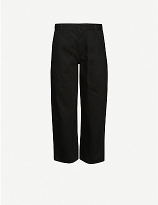 THE ROW: Hester high-rise wide-leg jeans