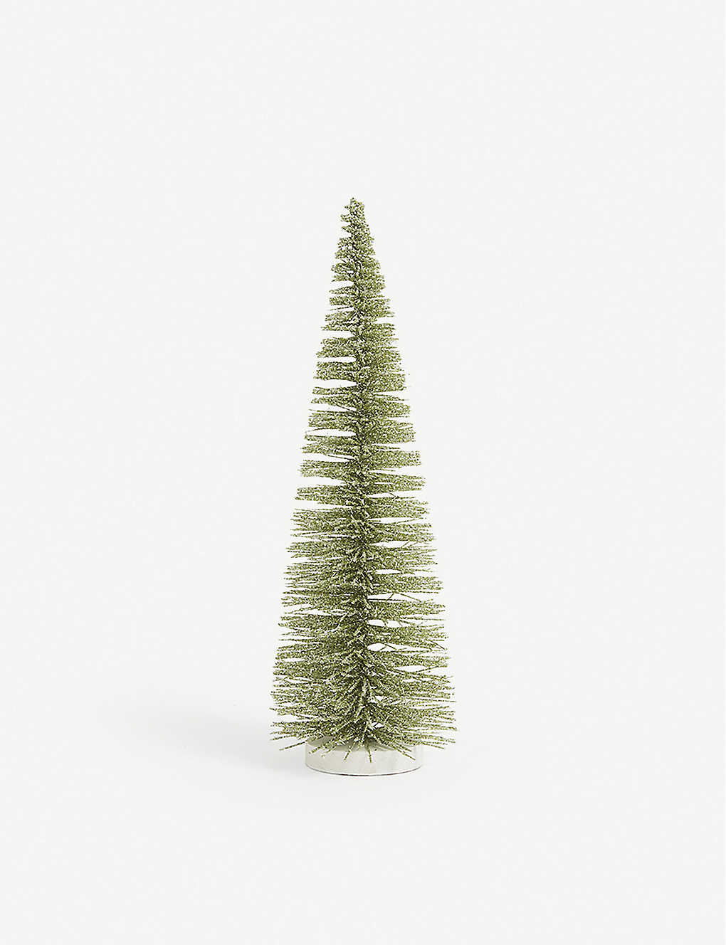 CHRISTMAS: Glittered Christmas tree decoration 36cm