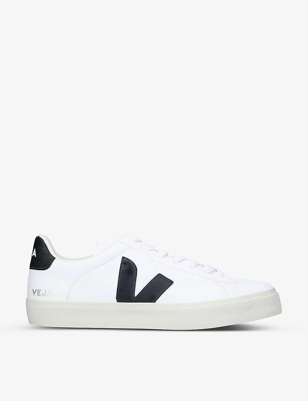 VEJA: Campo leather and coated-canvas low-top trainers