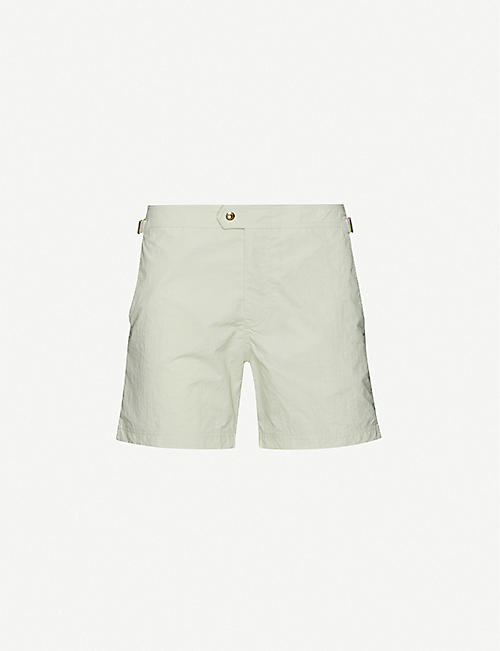 TOM FORD: Tailored mid-rise swim shorts