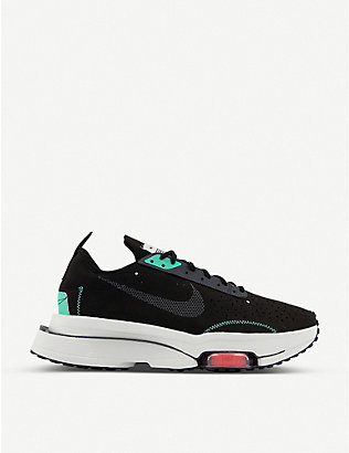 NIKE: Zoom Type suede and leather trainers