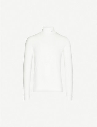 AMBUSH: Turtleneck stretch-jersey top