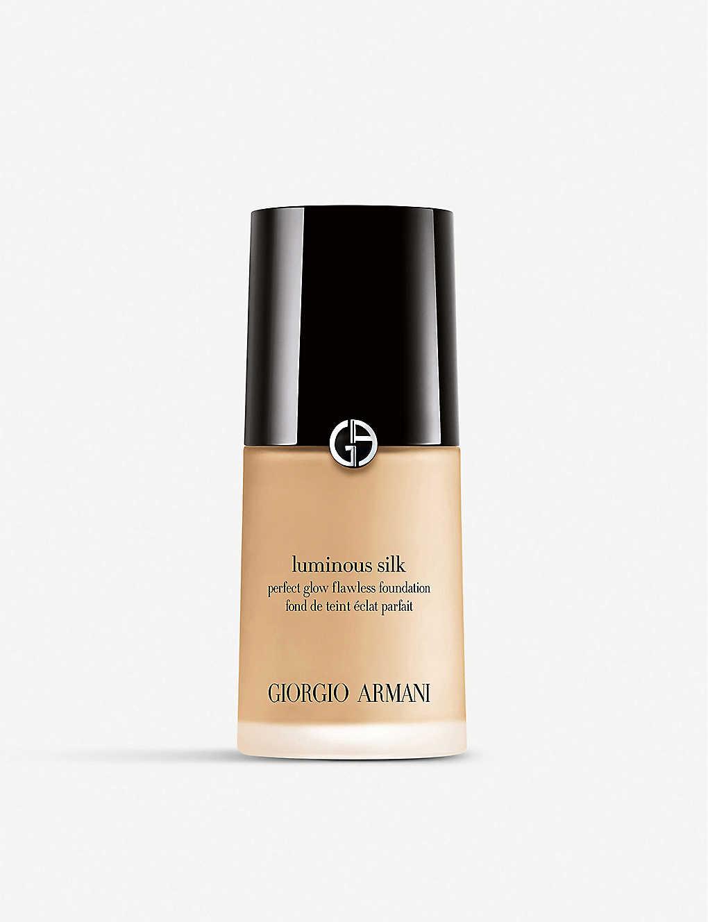 GIORGIO ARMANI: Luminous Silk foundation 30ml