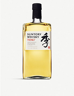 WHISKY AND BOURBON: Suntory Toki whisky 700ml