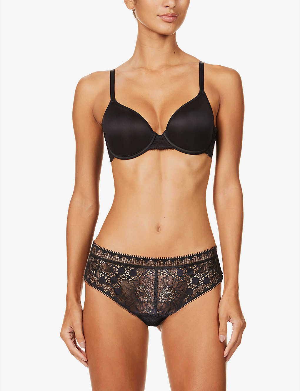 CHANTELLE: Day to Night padded jersey push-up bra
