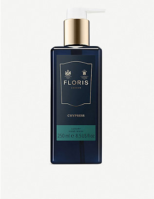 FLORIS: Chypress luxury hand wash 250ml
