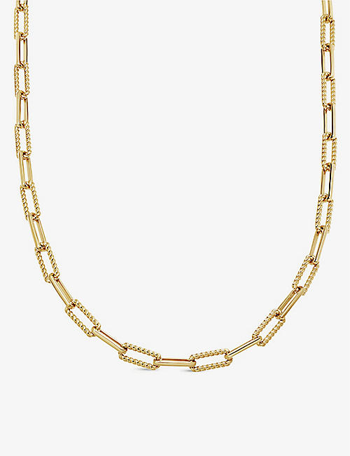 MISSOMA: Coterie 18ct gold-plated necklace