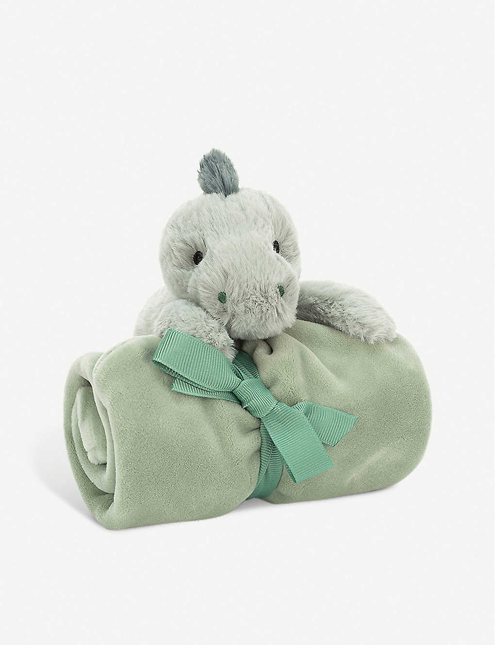 JELLYCAT: Shooshu Dino soft toy and soother set