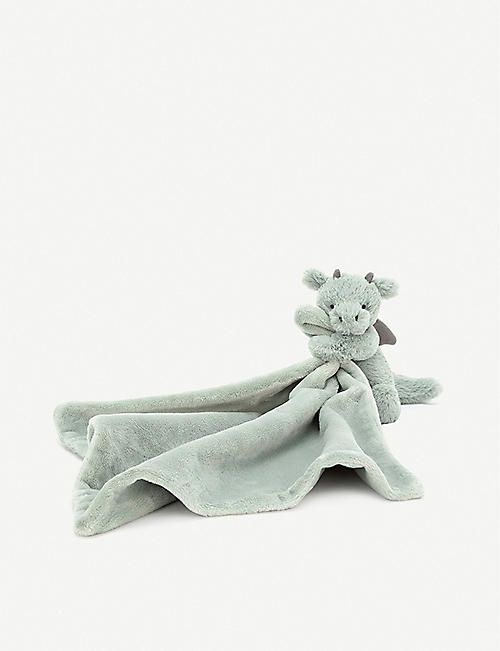 JELLYCAT: Bashful Dragon Soother soft toy 34cm