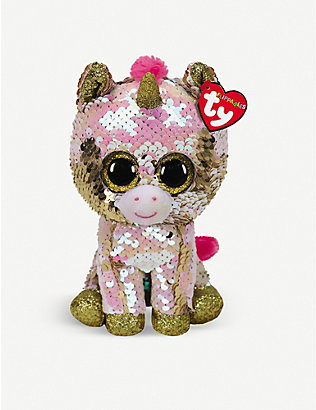 TY: Flippable Fantasia soft plush and sequin toy 10cm