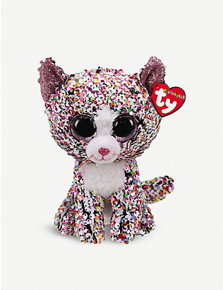 TY: Flippable Confetti soft plush and sequin toy 10cm