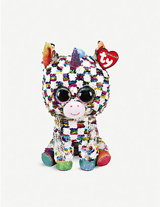 TY: Flippable Cosmo soft plush and sequin toy 10cm