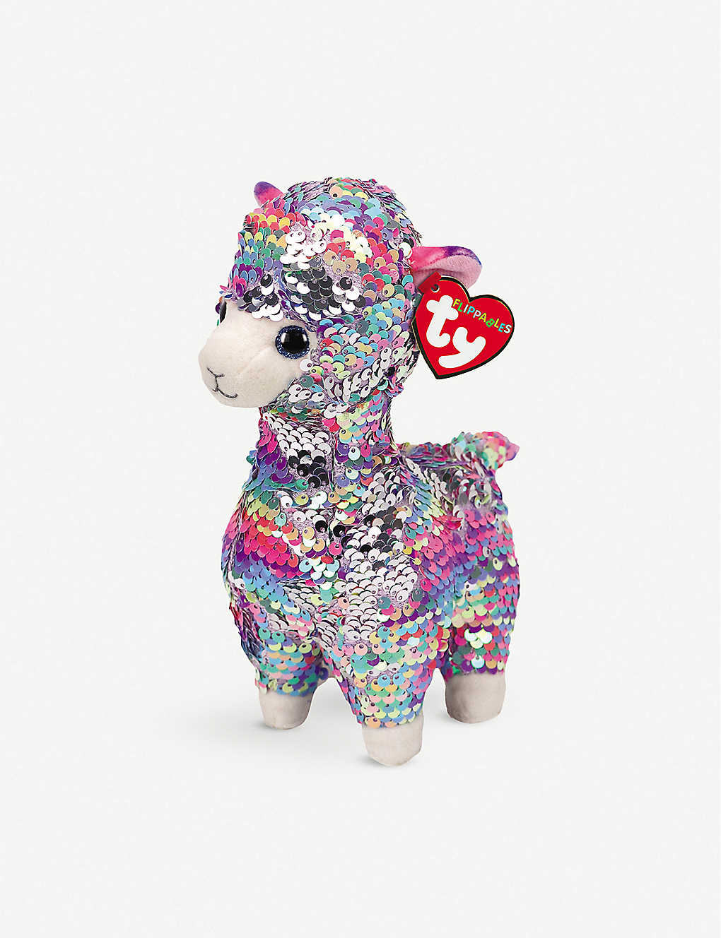 TY: Flippable Lola soft plush and sequin toy 10cm
