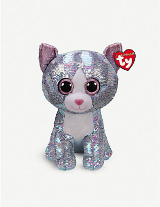 TY: Whimsy flippable sequin soft toy 33cm