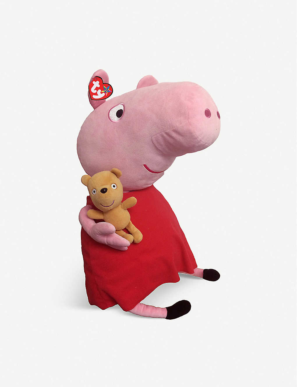 PEPPA PIG: TY Beanie Buddy Peppa Pig soft toy 56cm