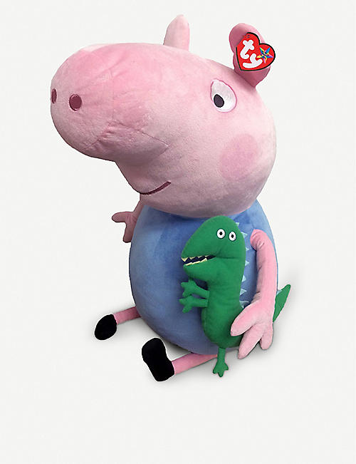 PEPPA PIG Ty George Pig soft toy 60cm