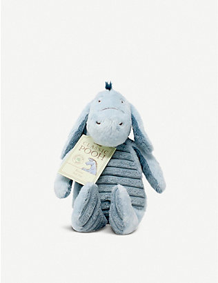 WINNIE THE POOH: Hundred Acre Wood Disney Winnie the Pooh Eeyore plush toy 17.5cm