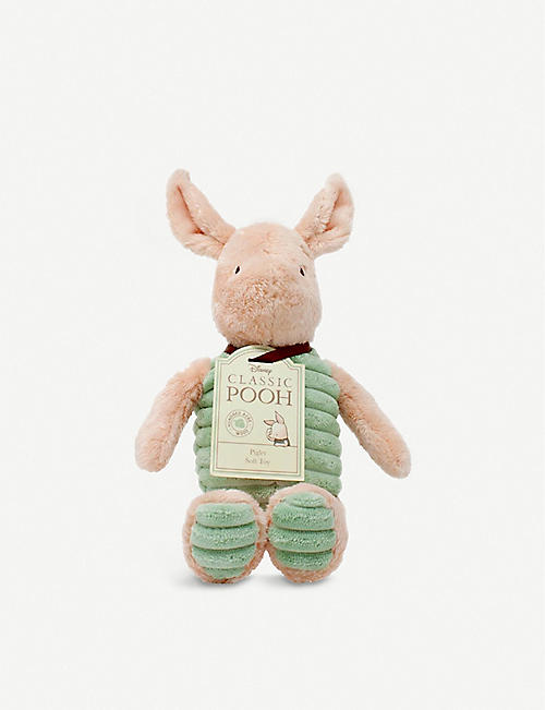 WINNIE THE POOH: Hundred Acre Wood Disney Winnie the Pooh Piglet plush toy 18cm