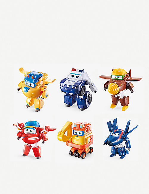 SUPER WINGS: Transforming Characters assorted toys
