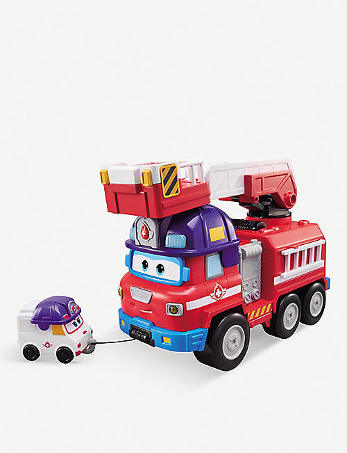 SUPER WINGS: Rescue Riders play set