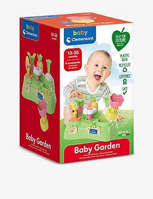 PLAY FOR FUTURE: Baby Garden recycled-plastic toy 15cm x 24cm